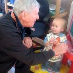 bill campbell and baby