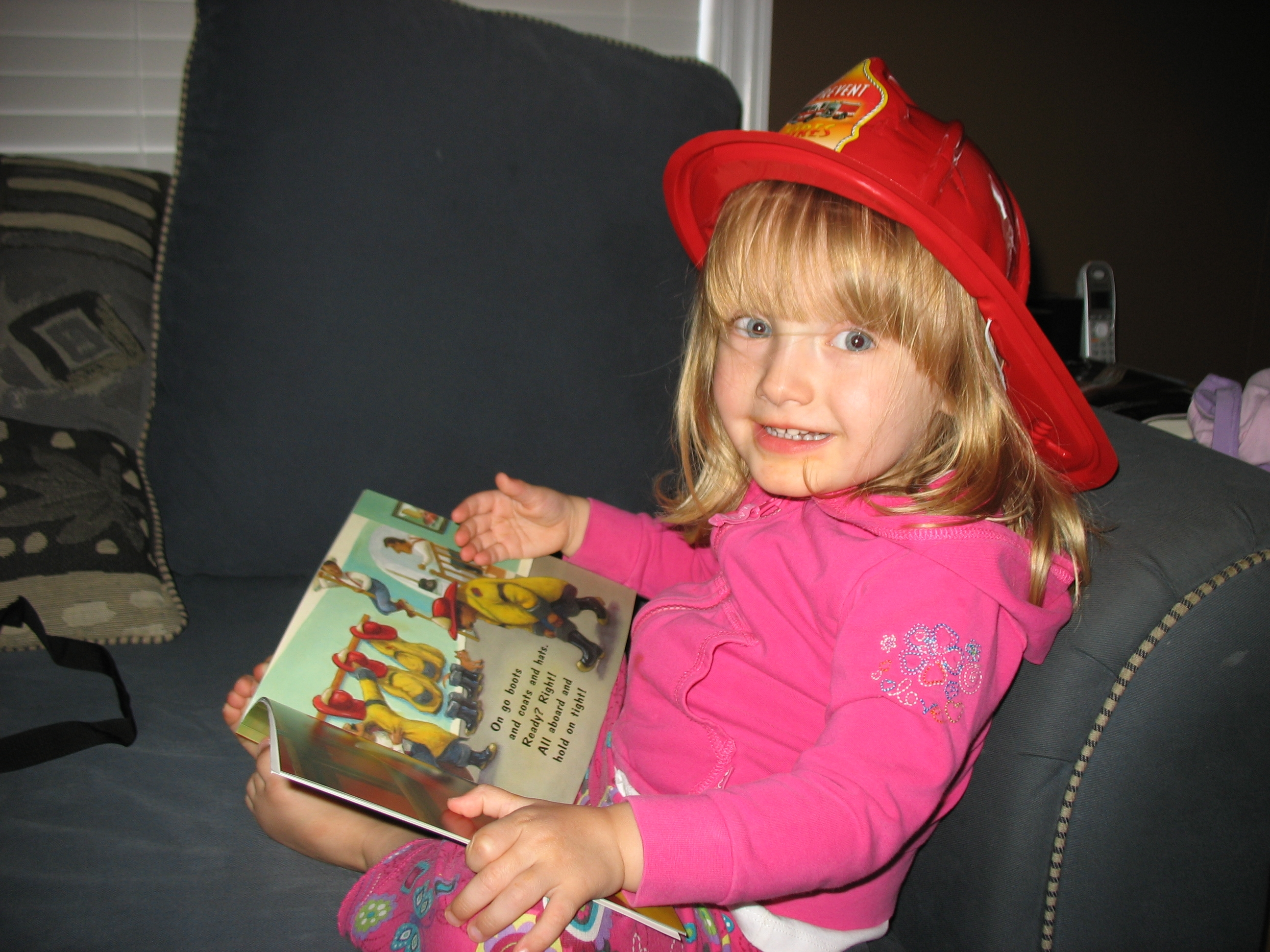 imagination library kid