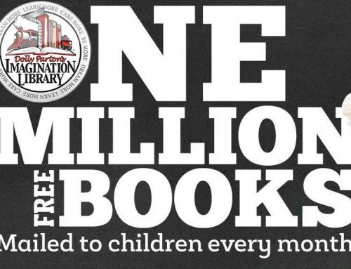 Dolly is celebrating 1,000,000 books!