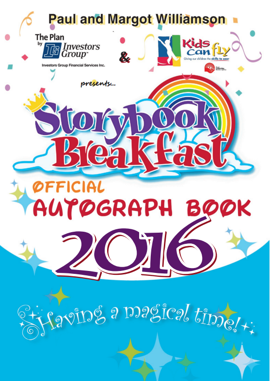 Storybook Breakfast Autograph Book Amp Placemat Archive
